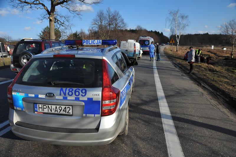 Kolizja trzech aut w Zimowiskach - ustka24.info