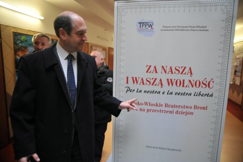 Riccardo Guarigila, ambasador Włoch odwiedził Ustkę - ustka24.info