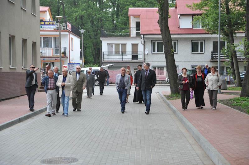Otwarcie ulicy Harcerskiej i Morskiej