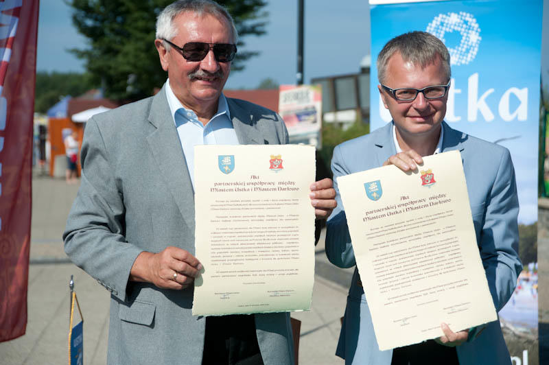 Umowa partnerska Ustka - Darłowo - ustka24.info