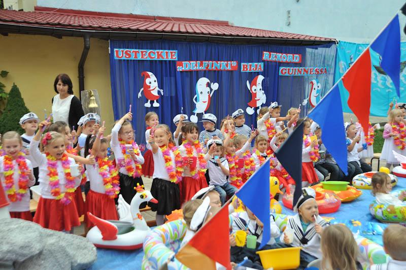 Przedszkolaki biję rekord Guinnessa - ustka24.info