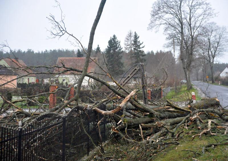 Masowe awarie prądu w regionie słupskim - ustka24.info