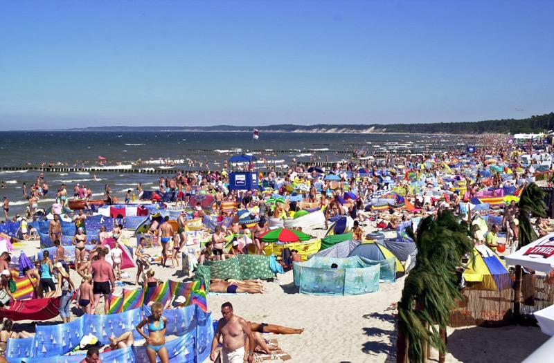 #szerokaplazaustka – usteckie, szerokie i czyste plaże – FOTO