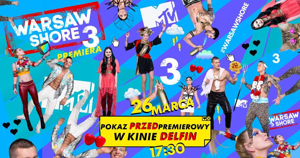 """""""Warsaw Shore – Ekipa z Warszawy"""" w usteckim kinie Delfin"""