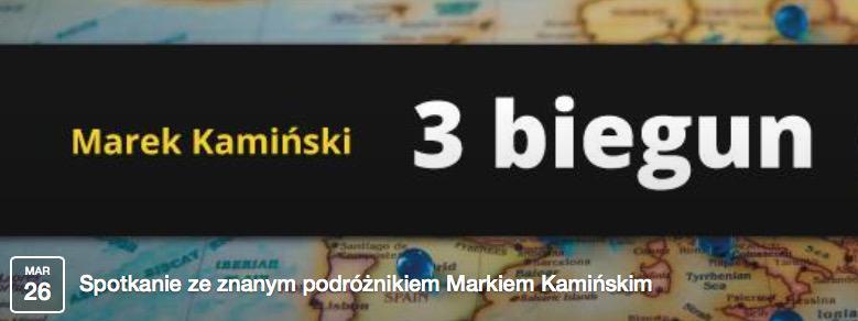 Spotkanie z podróżnikiem Markiem Kamińskim - ustka24.info