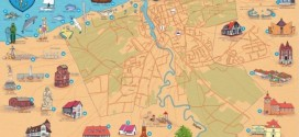 Mapa atrakcji stworzona przez LOT Ustka zwyciężyła w konkursie wydawniczym