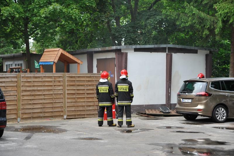 Awaria transformatorowni w centrum Ustki - ustka24.info