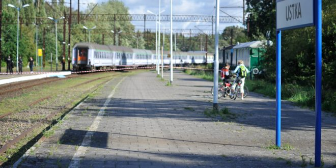 Mężczyzna wpadł pod pociąg na dworcu PKP w Ustce