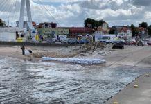Rozpoczął się remont slipu w usteckim porcie morskim - ustka24.info