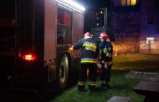 Pożar mieszkania socjalnego przy ulicy Grunwaldzkiej w Ustce - ustka24.info