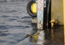 Cofka z Bałtyku podnosi poziom wody w usteckim kanale - ustka24.info