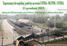 15 grudnia zapraszamy do wspólnej podróży na trasie Ustka - Słupsk - Ustka - ustka24.info