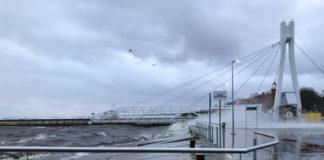 Ostrzeżenie przed silnym wiatrem na Pomorzu i sztormem na Bałtyku - ustka24.info