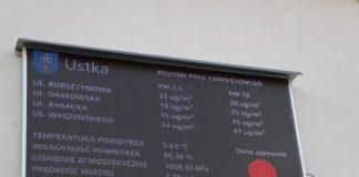 Sprawdź jakość powietrza w Ustce monitor wyświetla dane z czujników - ustka24.info